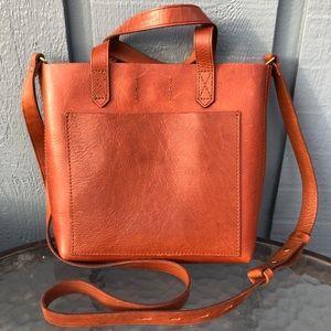 Madewell Small Leather Transport Crossbody Bag